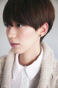 """short hair style"" https://sumally.com/p/1456308"