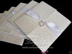 Custom Gate Wedding Invitation Sample - Tiffany Blue Party Theme