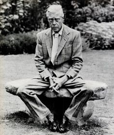 Note the shiny shoes, well tailored jacket and precarious perch.  The Duke of Windsor in his garden…wonder if he knew the pond was there before the pictures were made for Life magazine in the mid 1950s.