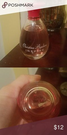 Christina Aquilera Inspire Perfume 100ml Used as seen in pic but still a lot more life left in this bottle! Christina Aguilera Other