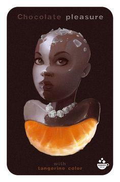 MAX KOMAKO #girl #candy #chocolate #nicy #lolipop #max_komako #sugar #nicy #sweet #сладкие_иллюстрации #candy_art #foodporn