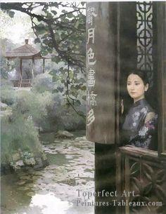chen yifei | ... Peintures chinoises>Chen Yifei>4zg047cD peintres chinoises Chen Yifei
