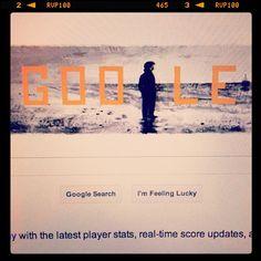 Google Top page to commemorate Truffaut's 80th anniversary