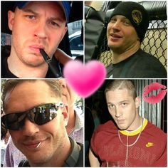 Each 1 is Hotter then the next... My God I'm in Love with all 4 versions of the uber talented Mr. Hardy!!! ❤❤❤❤❤