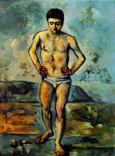 THE  BATHER, Cézanne