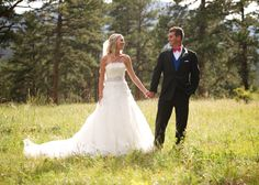 Della Terra Mountain Chateau Estes Park Wedding Unposed Natural Bride and Groom