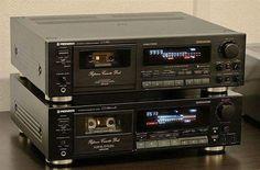 Pioneer CT-959 Stereo Cassette Tape Deck (1990) . Pioneer CT-939 Stereo Cassette Tape Deck (1988) Vintage Audio Love