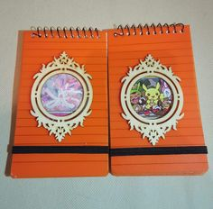 Vintage Style Anime Notepads by TheWhimsicalMammoth on Etsy