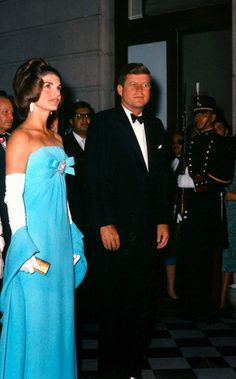 President and Mrs. Kennedy