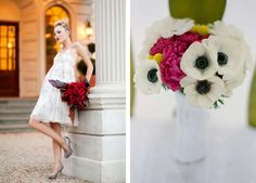 wedding-bouquet-bright-red-leaves-pinks-tropical