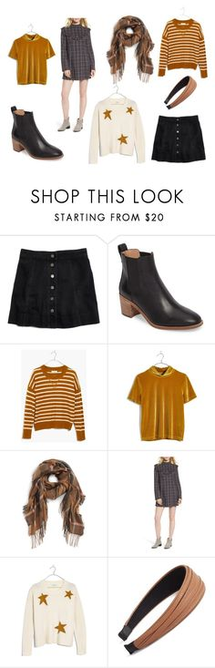 """""""Autumn Wish List 1"""" by superspacechick on Polyvore featuring Madewell, Treasure & Bond and Cara"""