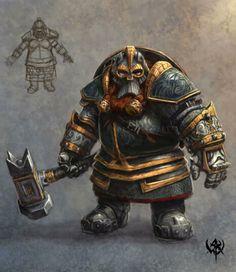 Kazrack Forgehammer Dwarf Battlemaster
