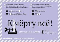 Оформление текстов. 18 правил РИА Новости
