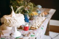 Camp themed 1st birthday | Jessica Sloane | 100 Layer Cakelet