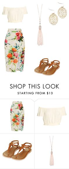 """""""Untitled #4"""" by catt13 ❤ liked on Polyvore featuring Oasis and Topshop"""