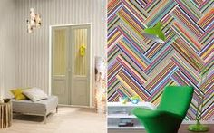 Stripes Only Wallpaper Collection (source Eijffinger) / Wallpaper Australia / The Ivory Tower