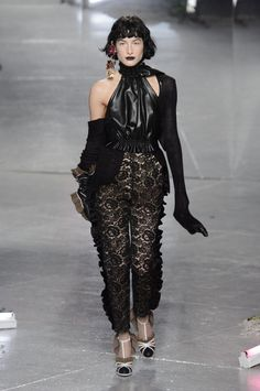 A look from the Rodarte fall 2016 collection.