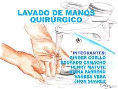 Lavado de manos quirúrgico by gingerstephaniacoello via slideshare