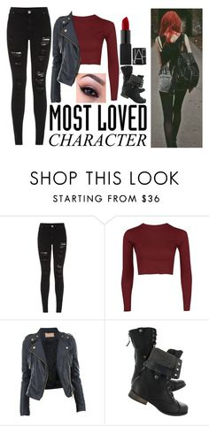 """Clary Fray"" by booktubelover7 ❤ liked on Polyvore featuring Parisian and CO"