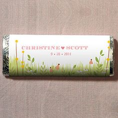 Homespun Charm Nut Free Gourmet Milk Chocolate Bar specialtyribbon.com