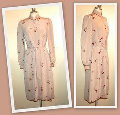 Images by Krizia for I Magnin Vintage Mandarin Collar Dress