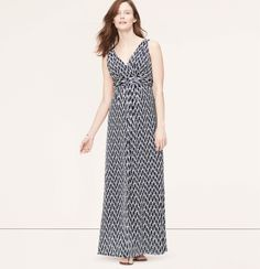 c8bd4d4ac7c6ee Maternity Ikat Print V-Neck Maxi Dress