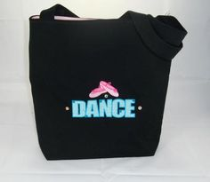 Dance Tote with ballet shoes - soo cute! and only $18.00