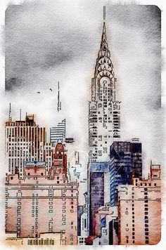 New York, USA - Printable Art, Instant Downloadable Images, Fine Art. by edeblas on Etsy