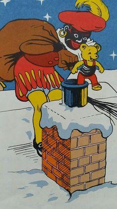 Piet op het dak