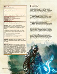 Blue elf counter spell mage. The King's Army - A D&D 5e Monster Pack - Album on Imgur