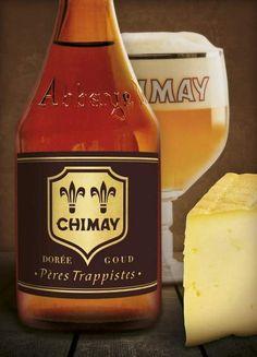 Chimay ajoute une nouvelle bière à son classique trio bleu-blanc-rouge: la Chimay Dorée