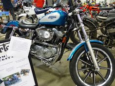 OldMotoDude: 1995 Harley-Davidson XLH 1200 Sportster on display...