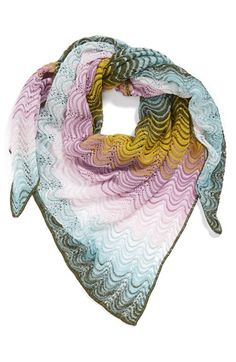 Missoni scarf.