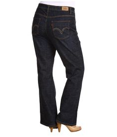 Levi's® Plus Plus Size 580™ Defined Waist Boot Cut Deep Melody - Zappos.com Free Shipping BOTH Ways