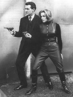 Cathy Gale (Honor Blackman) & John Steed (Patrick Macnee)