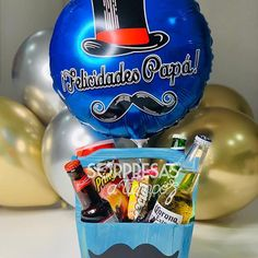 Happy Fathers Day, Pop Tarts, Snack Recipes, Candy, Creative, Surprise Gifts, Balloon Crafts, Hamper, Kid Craft Gifts