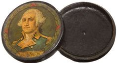 ca. 1875, [George Washington commemorative snuff box]  via Heritage Auctions. (From: http://heckyesamericana.tumblr.com)