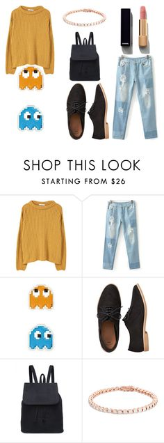 """""""Fall 2016"""" by purple-skyes ❤ liked on Polyvore featuring MANGO, Anya Hindmarch…"""