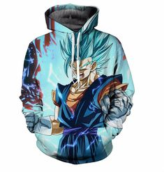 Dragon Ball Z Saiyan Armor Hoodie 3d Hoodies Pullovers