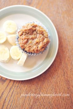This banana muffin is a little different from my other recipes. It has NO eggs! Yep, it's true. This one is both egg-free and grain-free. And kid approved!