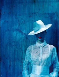 Iris Strubegger by Miles Aldridge for Vogue Germany