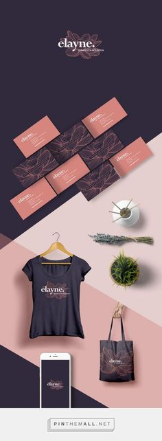 Elayne Holistic Therapist Logo and Business Cards by John Dias