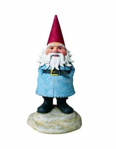 """Exhart 60317 8-Inch Talking Travelocity Roaming Gnome by Exhart. $26.99. 17 pre-recorded phrases. For indoor or outdoor use. Requires 3 aaa batteries (sold separately). Motion activated. Hand-painted cast resin. As seen on the multi-Emmy winning CBS show """"Amazing Race"""", this cheeky, iconic figure now is motion activated with 17 hilarious phrases! Cast resin and hand painted, this gnome will make your friends and family roar with laughter as they walk past your garden..."""