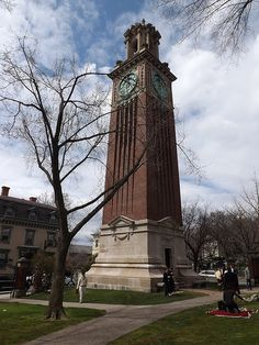 Carrie Tower, Brown University, Providence by I {heart} Rhody