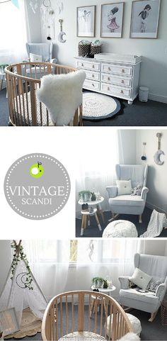 nordic vintage nursery