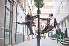 A unique engagement shoot by Sandra Marusic Photography featuring two dancers dancing around London in the 'Dancers Among Us' style. Street Dance, Ballet Photography, Photography Photos, Engagement Photography, Dark Fantasy Art, Dancers Among Us, Wedding Fotos, Wedding Blog, Dance Photo Shoot