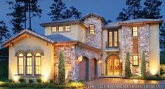 Possibly our new Florida home! The plans for this house are so pretty. I love the architecture.