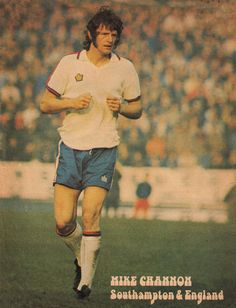 November Southampton Mick Channon in action for England, against Italy, at the Olympic Stadium, Rome. Southampton Football, 3 Lions, World Cup Qualifiers, England National, Class Games, Association Football, Retro Football, Premier League, Olympics