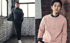 For all of us suffering from lack of Song Joong Ki, TOPTEN continues to share his smexiness with us: here he's showing off some of their F/W line. We're patiently waiting for him to ret… Korean Celebrities, Korean Actors, Celebs, Song Joong Ki Photoshoot, Soon Joong Ki, Descendents Of The Sun, Sungkyunkwan Scandal, A Werewolf Boy, Hallyu Star