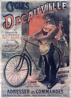 A Beautiful Collection Of Vintage Bicycle Ads